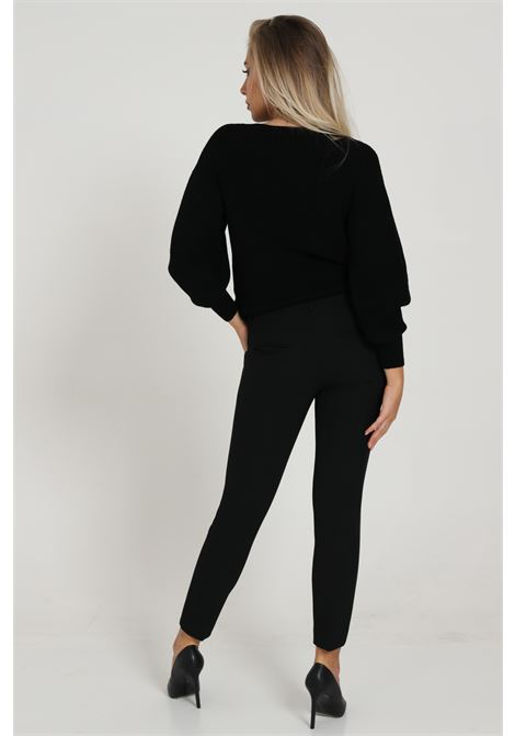 Pantalone vita alta slim SIMONA CORSELLINI | Pantaloni | A20CPPA027-010003