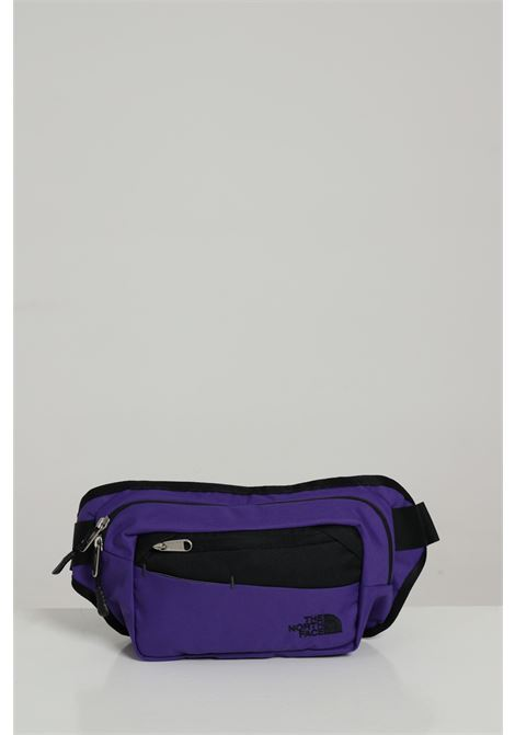 Marsupio unisex viola the north face bicolore con logo a contrasto, chiusura con zip THE NORTH FACE | Marsupi | NF0A2UCXS961S961