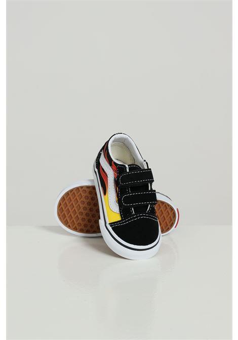 Old Skool V VANS | Sneakers | VN0A344KPHN1FLAME/BL