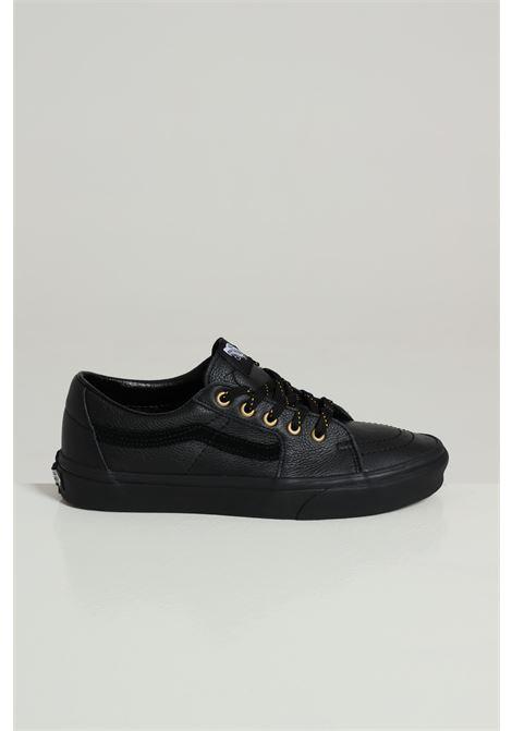 Sneakers In Ecopelle Vans VANS | Sneakers | VN0A4UUKL3A1LEATHER/ BLACK