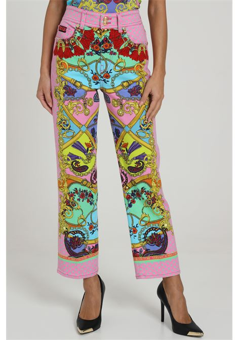 Jeans Stampato VERSACE JEANS COUTURE   Jeans   A1HZA0TPSQ16E445