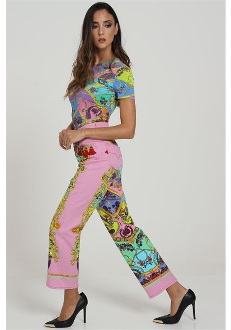 Jeans Stampato VERSACE JEANS COUTURE | Jeans | A1HZA0TPSQ16E445
