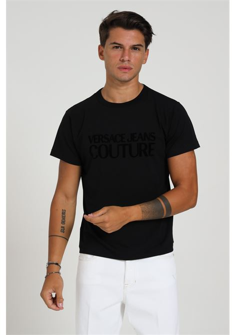 T-shirt logata VERSACE JEANS COUTURE   T-shirt   B3GZA7GC30383899