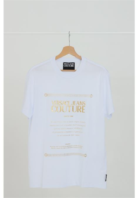 VERSACE JEANS COUTURE | T-shirt | B3GZA7TF30319K41