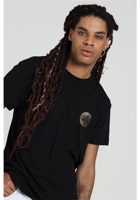 T-shirt Con Stampa B3gza7ti30319 VERSACE JEANS COUTURE   T-shirt   B3GZA7TI30319K42