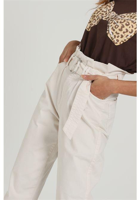 Pantalone Con Cintura In Vita VICOLO | Pantaloni | DW0065PANNA