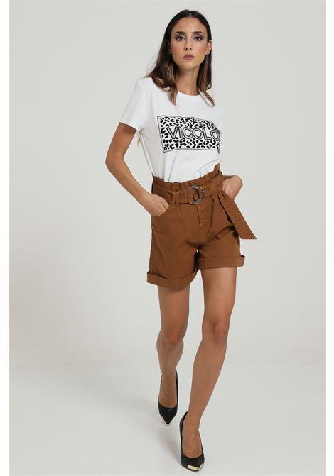 Short Con Cintura In Vita VICOLO | Shorts | DW0074NOCCIOLA
