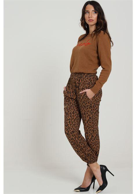 Pantalone animalier VICOLO   Pantaloni   RW0162LEOPARDO