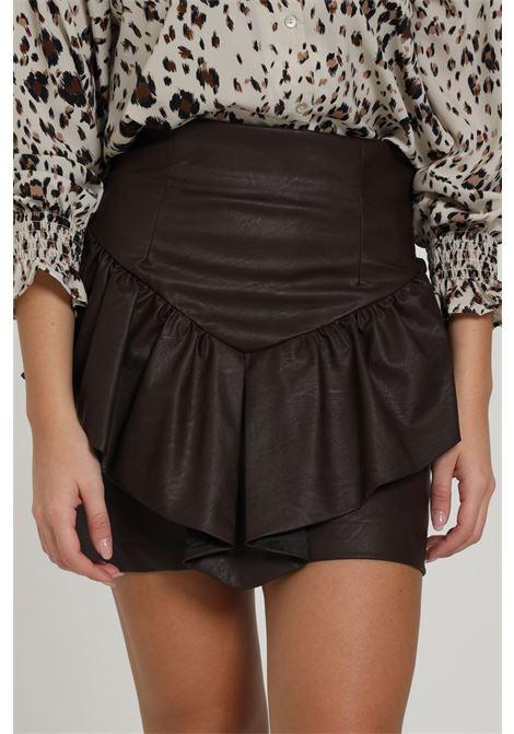 VICOLO | Skirt | TW0073MARRONE
