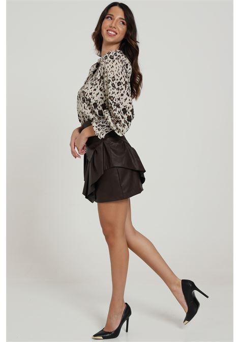 VICOLO   Skirt   TW0073MARRONE