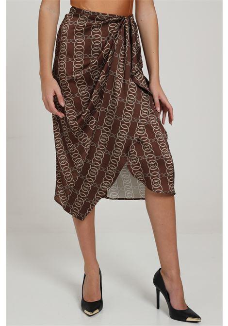 VICOLO   Skirt   TW0162MARRONE