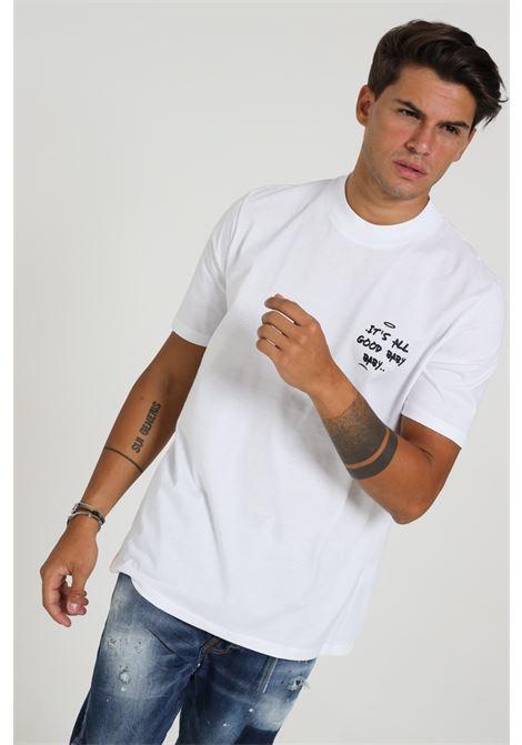 YES LONDON | T-shirt | XM3829BIANCO