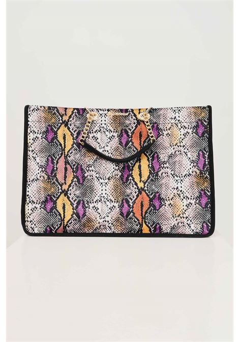 Printed shopper by 4giveness with chain and fabric handles 4GIVENESS | Bag | FGAW1160200