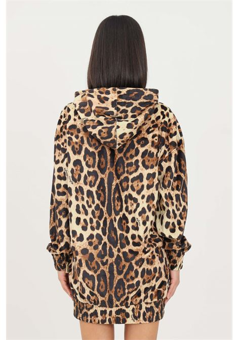 Spotted women's dress by 4giveness short cut with hood 4GIVENESS | Dress | FGFW1137200