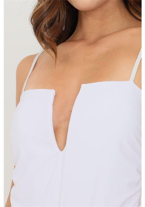 Body donna bianco addicted con taglio al seno ADDICTED | Body | AQ5209BIANCO