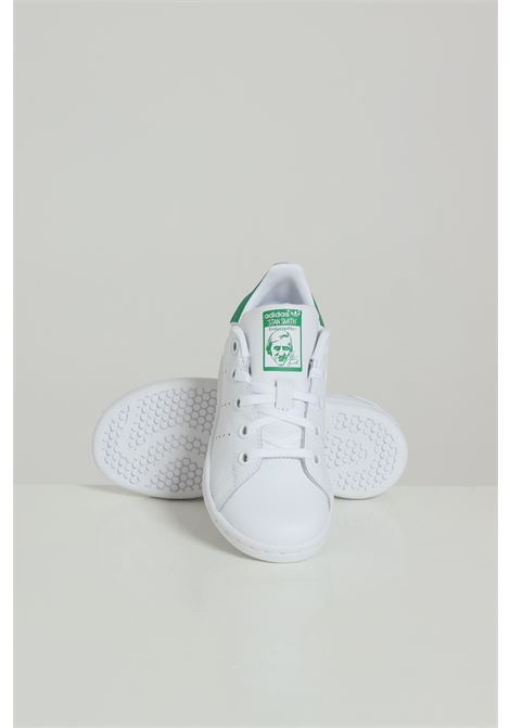 Sneakers stan smith bambino unisex bianco adidas ADIDAS | Sneakers | BA8375FTWWHT/FTWWHT
