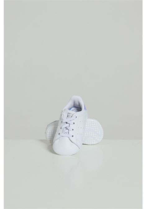 White newborn stan smith crib sneakers adidas ADIDAS   Sneakers   CG6543.