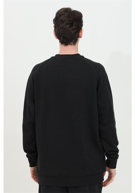Black trefoil warm-up crew crew neck sweatshirt adidas ADIDAS | Sweatshirt | CW1235.
