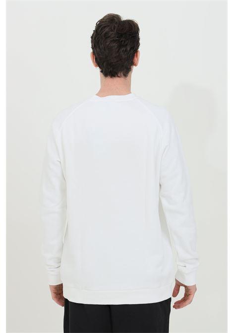 White trefoil warm-up crew crew neck sweatshirt adidas ADIDAS | Sweatshirt | DV1544.