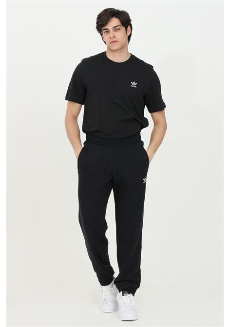 Black loungewear trefoil essential trousers adidas ADIDAS   Pants   DV1574.