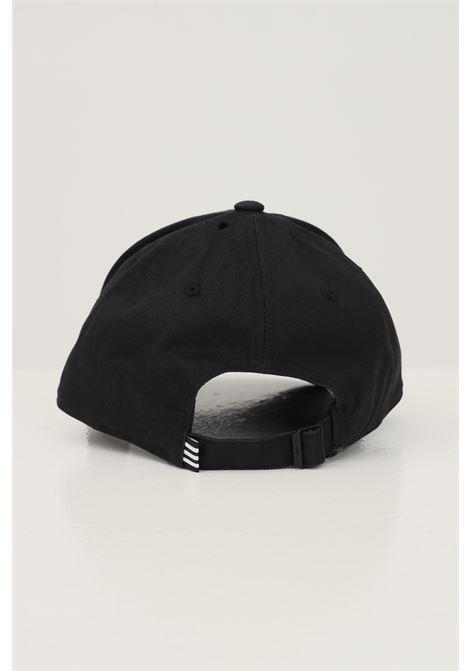 Cappello trefoil baseball unisex nero adidas con logo ricamato frontale ADIDAS | Cappelli | EC3603.