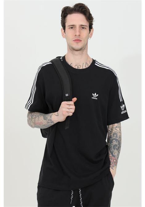 Black men's t-shirt short sleeve adidas ADIDAS   T-shirt   ED6116.