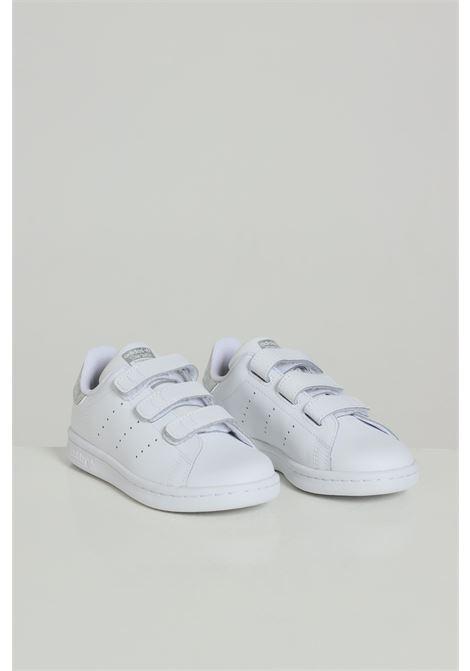 Sneakers bambina bianco adidas chiusura con velcro ADIDAS | Sneakers | EE8484FTWWHT/FTWWHT