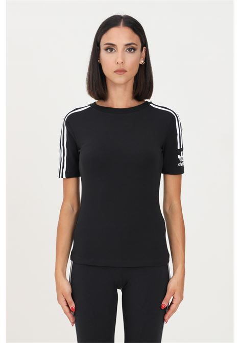 T-shirt tight donna nero adidas a manica corta ADIDAS   T-shirt   FM2592.