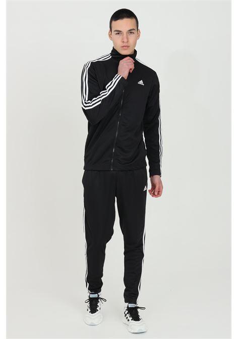 Tuta performance uomo nero adidas sport ADIDAS | Tute | FS4323.