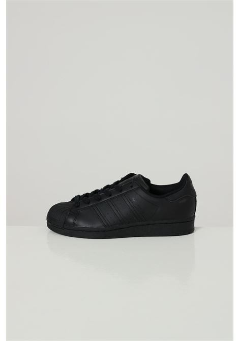 Black unisex superstar sneakers adidas  ADIDAS | Sneakers | FU7713CBLACK/CBLACK/.