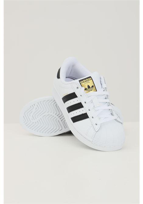 Sneakers superstar c bambino unisex bianco adidas ADIDAS | Sneakers | FU7714.