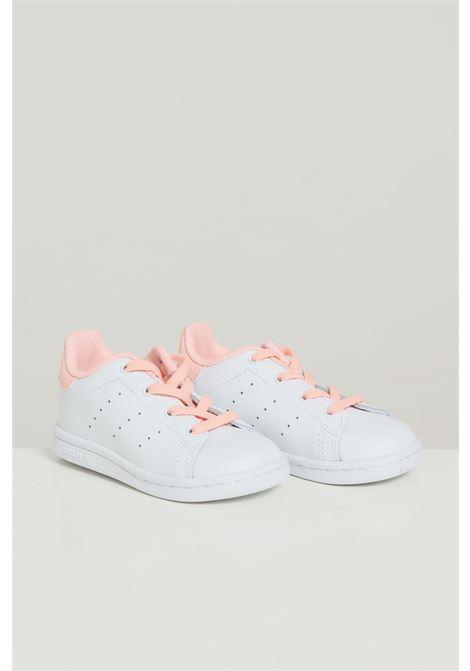 White newborn stan smith sneakers adidas  ADIDAS   Sneakers   FV2917FTWWHT/HAZCOR