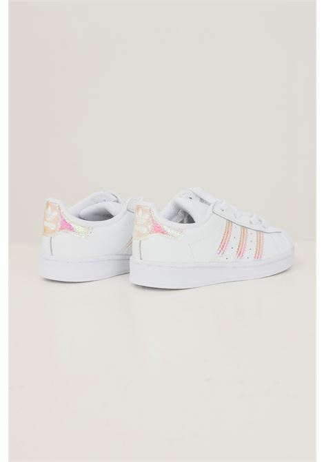 Sneakers superstar el i neonato bianco adidas con bande iridescenti ADIDAS | Sneakers | FV3143.