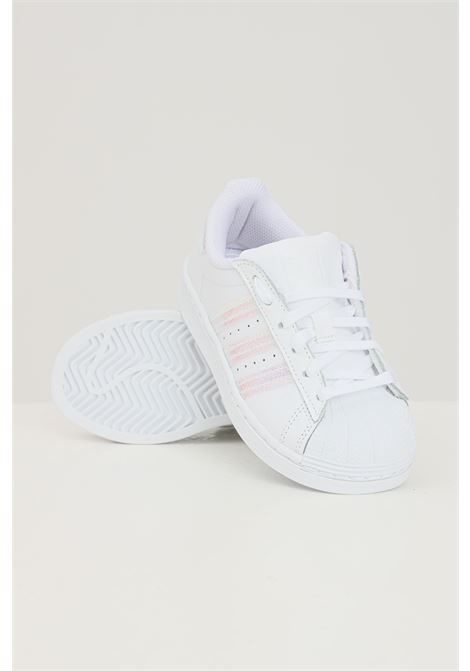 Sneakers superstar fluo bambino unisex bianco adidas ADIDAS | Sneakers | FV3147.