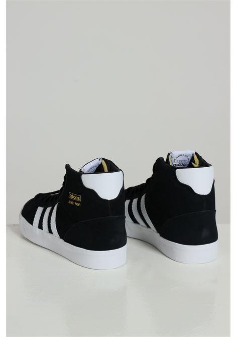 Black men's basket profi sneakers adidas  ADIDAS | Sneakers | FW3100CBLACK/FTWWHT
