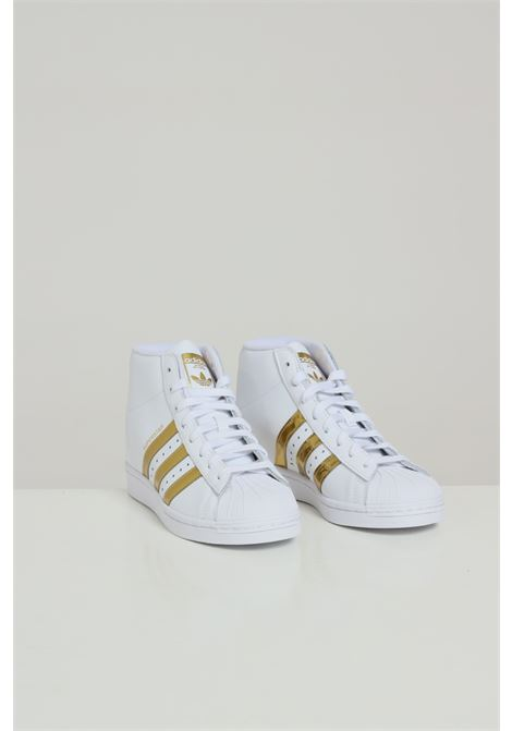 White superstar up sneakers adidas ADIDAS | Sneakers | FW3905FTWWHT/GOLDMT