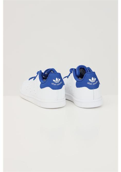 White newborn stan smith sneakers adidas ADIDAS | Sneakers | FW4489FTWWHT/ROYBLU