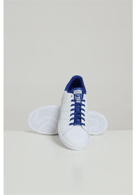 White unisex stan smith j sneakers adidas ADIDAS | Sneakers | FW4492FTWWHT/ROYBLU