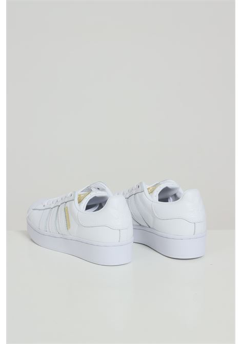 White women's superstar bold sneakers adidas ADIDAS | Sneakers | FW4520FTWWHT/GOLDMT