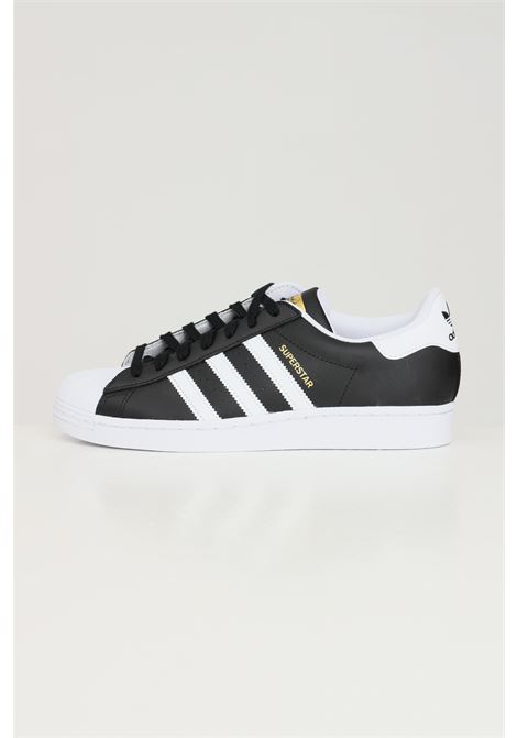Black unisex superstar adidas sneakers with contrasting bands ADIDAS | Sneakers | FX2331.