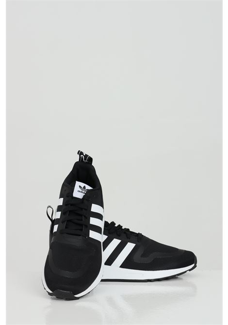 Black men's multix sneakers with suede inserts adidas ADIDAS | Sneakers | FX5119.
