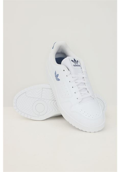 White unisex ny 90 sneakers by adidas ADIDAS | Sneakers | FX6472J.