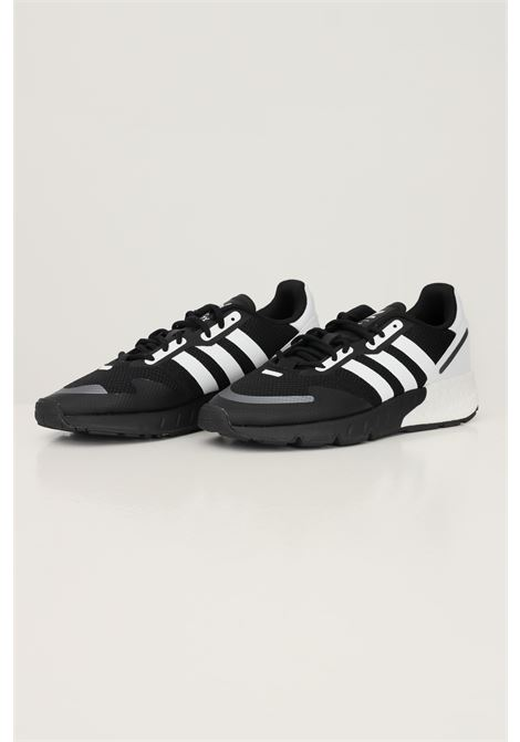 Black men's zx 1k boost sneakers by adidas with mesh inserts ADIDAS | Sneakers | FX6515.