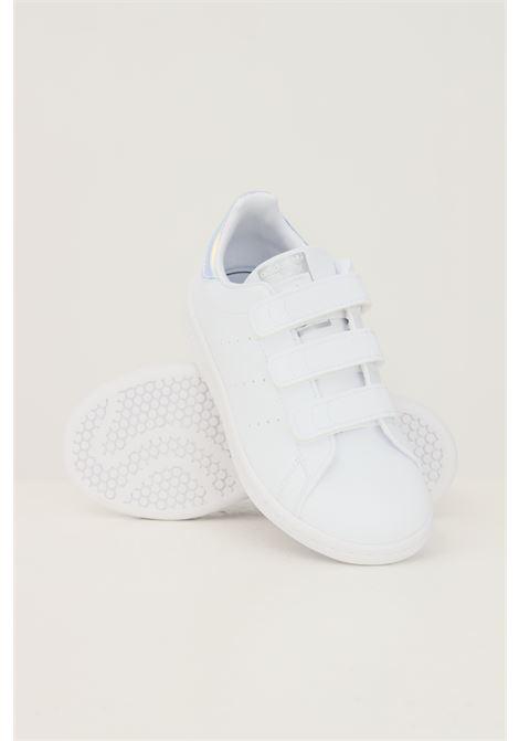Sneakers stan smith bambina bianco adidas con strappi ADIDAS | Sneakers | FX7539.
