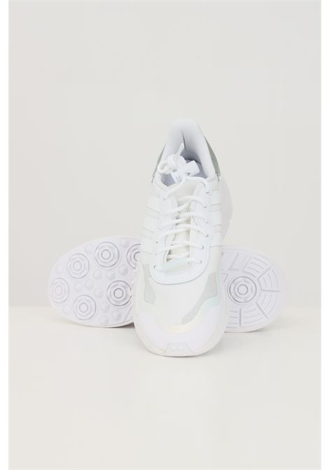 White women's choigo w sneakers by adidas  ADIDAS | Sneakers | FY6499.