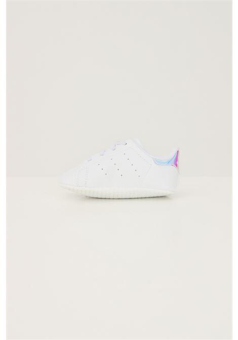 Sneakers stan smith crib neonato bianco adidas con lacci elastici ADIDAS | Sneakers | FY7892.