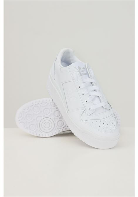 White women's forum bold w sneakers by adidas ADIDAS | Sneakers | FY9042.