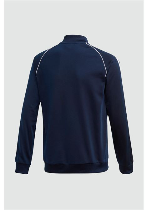 Blue baby track top sst sweatshirt with zip adidas ADIDAS   Sweatshirt   GD2675..