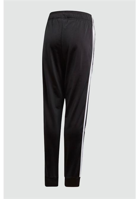 Pantalone track sst bambino unisex nero adidas ADIDAS   Pantaloni   GE1997BLACK/WHITE