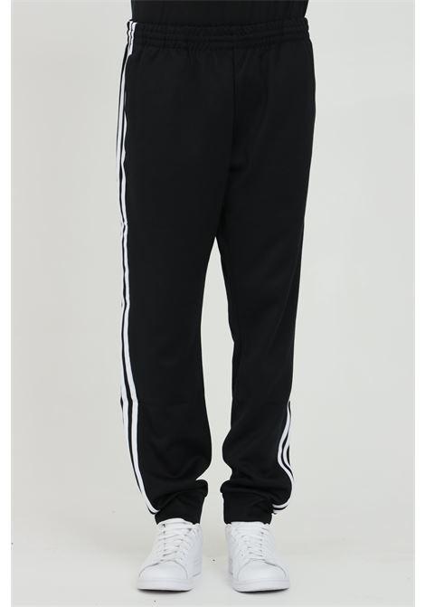 Black men's track adicolor classics primeblue sweatpants adidas ADIDAS   Pants   GF0210.